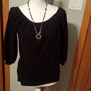 AB studio sweater, sz L, black